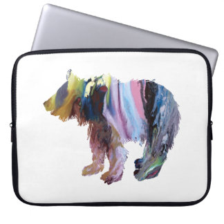 Bear cub laptop sleeve