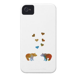 Bear Cubs iPhone 4 Case-Mate Cases