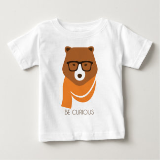 Bear Curious Baby T-Shirt