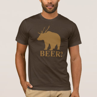 Bear + Deer = Beer?  shirt
