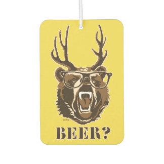 Bear, Deer or Beer Car Air Freshener