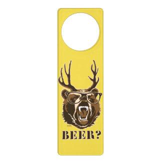 Bear, Deer or Beer Door Hanger