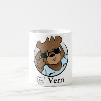 Bear detective Vern classic mug