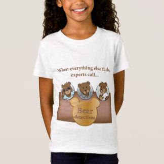 Bear detectives Girls' Babydoll T-Shirt
