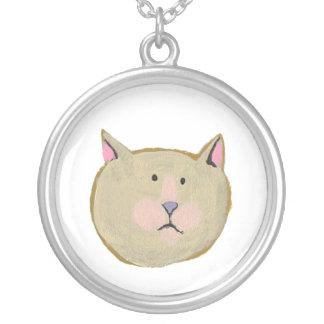 Bear dog cat rabbit fish human bird - 7 faces necklace
