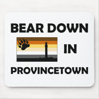 Bear Down In Provincetown Mouse Pad