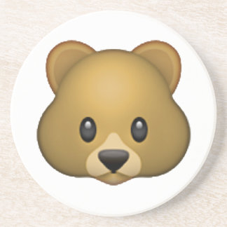 Bear - Emoji Beverage Coaster