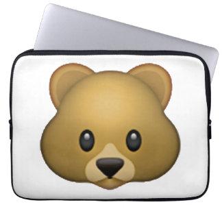 Bear - Emoji Laptop Sleeve