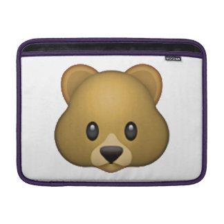Bear - Emoji MacBook Sleeve