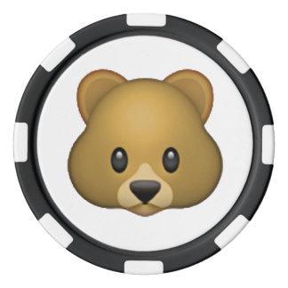 Bear - Emoji Poker Chips