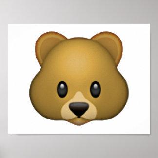 Bear - Emoji Poster