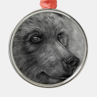 Bear Face Premium Ornament