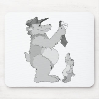 Bear Father And Son Mousepads