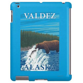 Bear Fishing in River - Valdez, Alaska