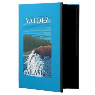 Bear Fishing in River - Valdez, Alaska Case For iPad Air