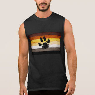 BEAR FLAG SLEEVELESS SHIRT