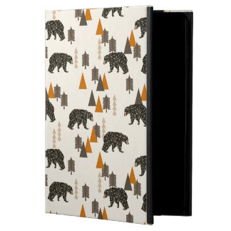 Bear / Forest Woodland Camping / Andrea Lauren Cover For iPad Air