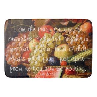 Bear Fruit verse Bath Mat