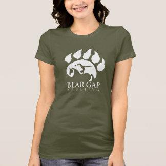 Bear Gap Vaulting White Text Shirt