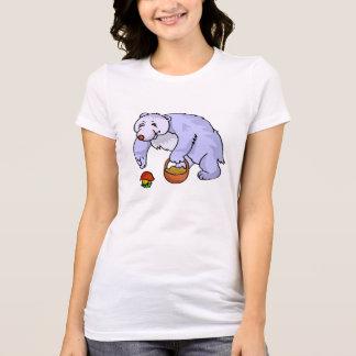 Bear Gathering Mushroom Tshirts