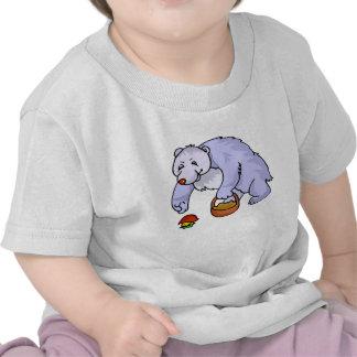 Bear Gathering Mushroom T-shirts