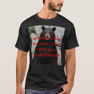 Bear-Grandfather-Mtn-Tim-Floyd-779608, I wrestl... T-Shirt