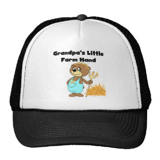 Bear Grandpas Farm Hand Cap
