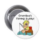 Bear Grandpas Fishing Buddy Pin