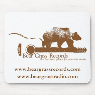 Bear Grass Records Mouse Pad