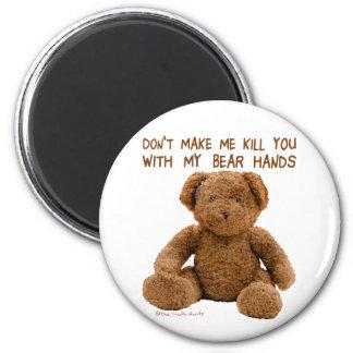 Bear Hands Magnet