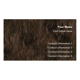 Bear Hide Trick card / Business Card