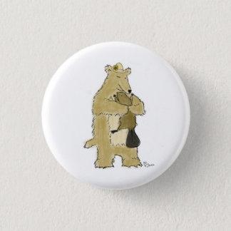 Bear hug 3 cm round badge