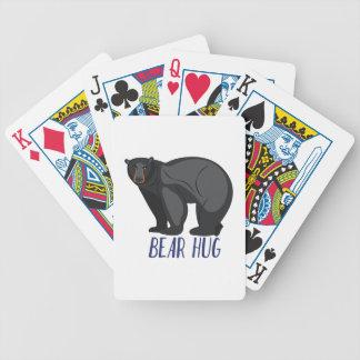 Bear Hug Bicycle Playing Cards