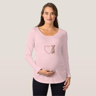 Bear Hug Maternity tee