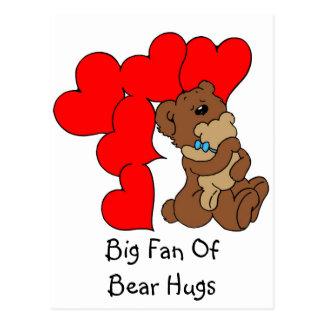 Bear Hugs! - Postcard