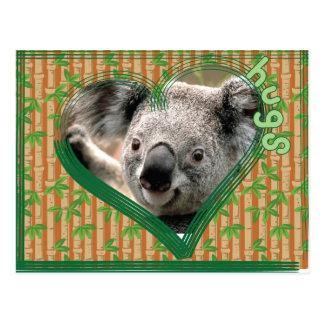 Bear Hugs Postcard