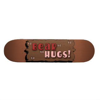 Bear Hugs Skate Board
