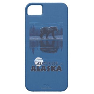 Bear in Moonlight - Latouche, Alaska iPhone 5 Covers