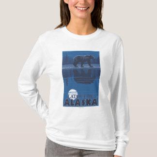 Bear in Moonlight - Latouche, Alaska T-Shirt
