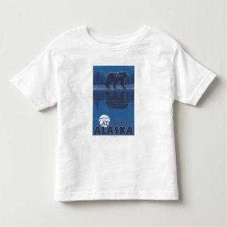 Bear in Moonlight - Latouche, Alaska Toddler T-Shirt