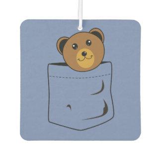 Bear in pocket
