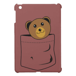 Bear in pocket cover for the iPad mini