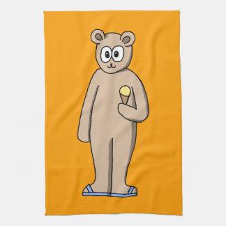 Bear in Summer. Towels