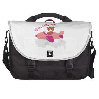 Bear In The Air Commuter Bag