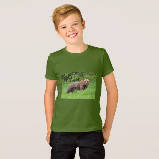 Bear in the Grass Fine Jersey T-Shirt