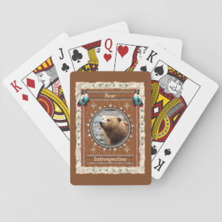 Bear -Introspection- Classic Playing Cards