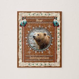 Bear - Introspection -  Jigsaw Puzzle w/ Gift Box