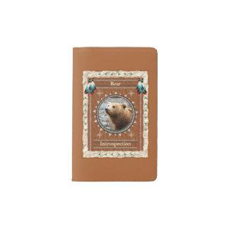 Bear -Introspection- Notebook Moleskin Cover