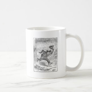 Bear is Chased by a Swarm of Angry Bees Coffee Mug