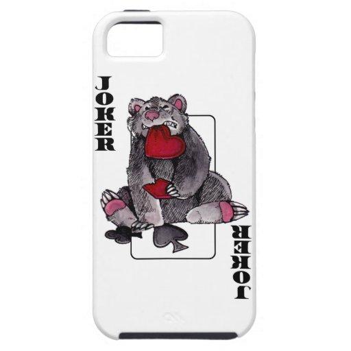 Bear Joker iPhone 5 Cases